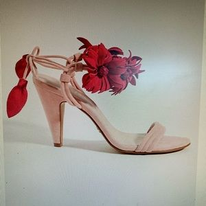 Anthropologie Cecelia Wildflower Heels